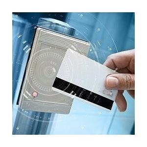 Kartendrucker und Plastikkarten