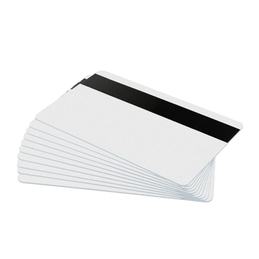 PVC Plastikkarten mit Magnetstreifen LoCo weiß