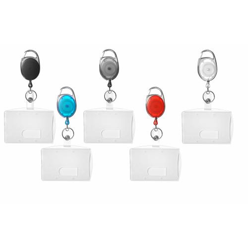 Ausweisjojo weiß 5 x Ausweishalter Kartenhülle Ausweishülle Kartenhalter