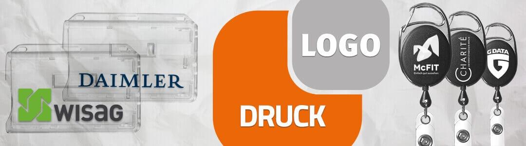 Druck und Logo