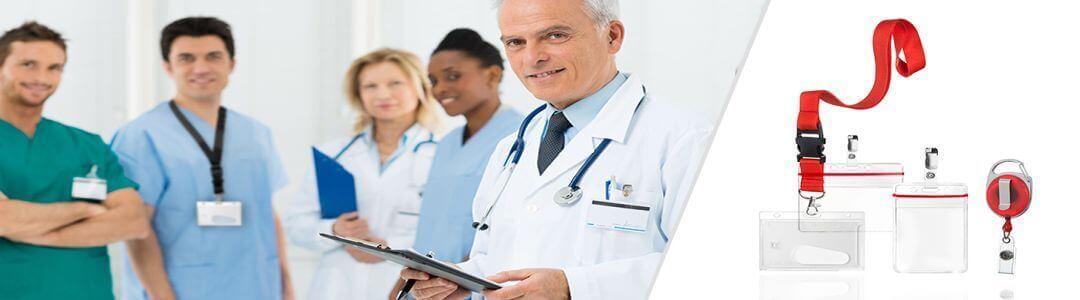Ausweishüllen für Ärzte und Krankenhäuser